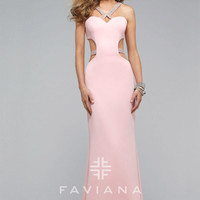 Faviana 7702 Faviana DRESSES FOUR ME Bridesmaids, Prom, Special Occasion Gowns in Miami & Ft Lauderdale
