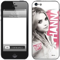 Zing Revolution Pretty Little Liars Premium Vinyl Adhesive Skin for iPhone 5, Hanna (MS-PLL40318)