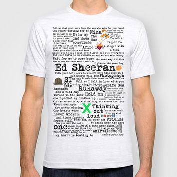 Ed Sheeran X T-shirt by Adel