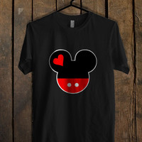 Mickey and Minnie Disney Matching A  Mens T Shirt and Womens T Shirt *76*