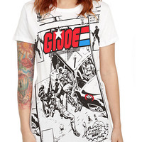 G.I. Joe Comic Book Girls T-Shirt | Hot Topic
