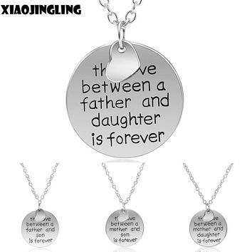 Four Choices - The Love Between A Mother And Daughter/Son Is Forever - Pendant Necklace