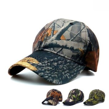 Jungle Camouflage - 3-D Cute, Graphic, Cool Baseball Cap - Tactical Hunting Hat