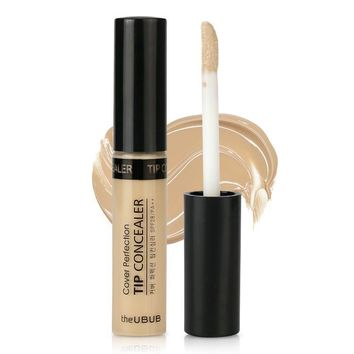 UBUB silky Concealer liquid / stick to cover dark circles, pox and India Concealer pen lip base cream [11470472460]