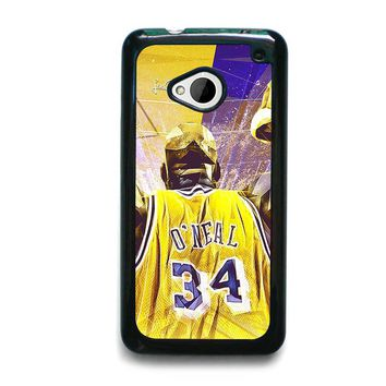 SHAQUILLE O'NEAL LA LAKERS  HTC One M7 Case Cover