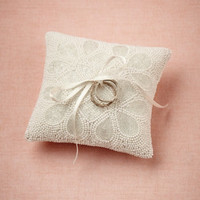 Ice Drops Ring Pillow