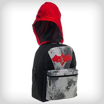 Hooded Red Hood Backpack - Spencer's