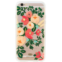 Rifle Paper Co. Clear Peach Blossom iPhone 6 case