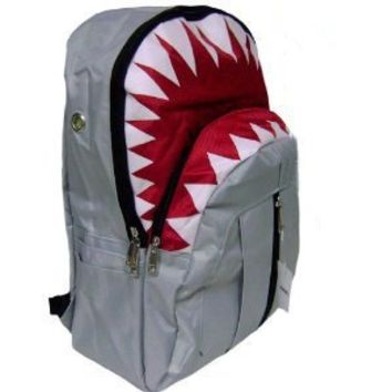 New Shark Gray Backpack