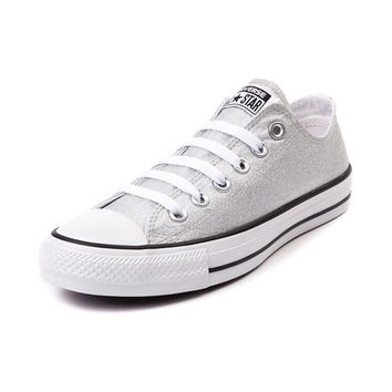 Converse Chuck Tayor All Star Lo Silver Sneaker