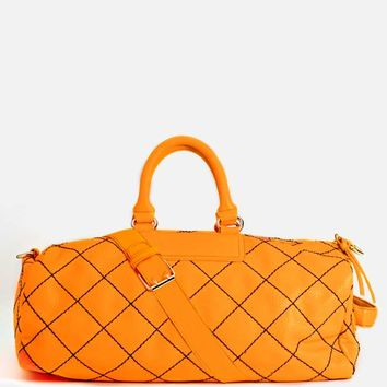 Jet Set Weekender Bag - Orange