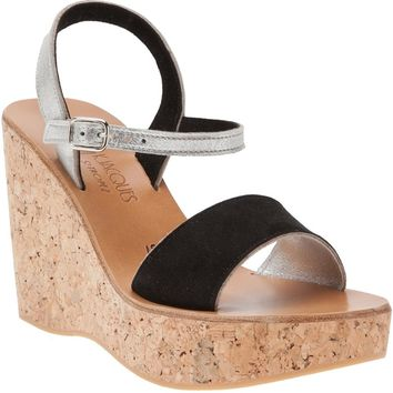 K. Jacques Sharon Cork Sandal
