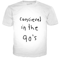 Conceived in the 90's tee