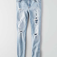 AEO Denim X Jegging Ankle , Ice Woman