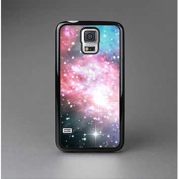 The Colorful Neon Space Nebula Skin-Sert Case for the Samsung Galaxy S5