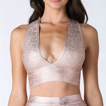 Stand Out Bandage Crop Top