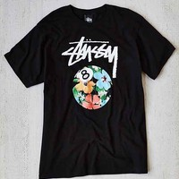 Stussy 8 Ball Flower Tee