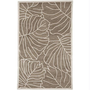Area Rug - 8' X 11' - Colors Include  Mushroom And Antique White