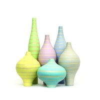 Decor Belly Vases / Stripes