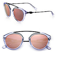 Westward Leaning - Flower 10 51MM Round Sunglasses - Saks Fifth Avenue Mobile