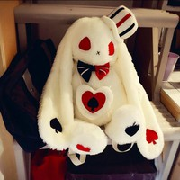 "20"" AMUSE Pote Loppy Rabbit Plush Doll Backpack LOLITA Girl Shoulder Bag Gift"