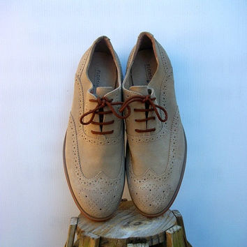 Vintage Leather Oxfords for men Brogue Wingtip  Florsheim