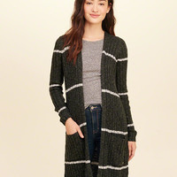 Girls Ribbed Duster Cardigan | Girls Tops | HollisterCo.com