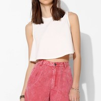 Ziggy Chambray Acid-Wash Short - Urban Outfitters