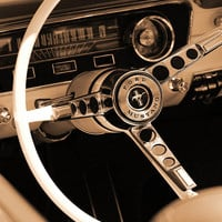 1965 Ford Mustang  Photograph by Gordon Dean II - 1965 Ford Mustang  Fine Art Prints and Posters for Sale