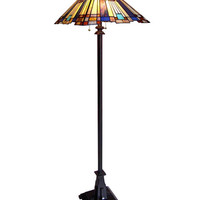 Arts & Crafts Mission 2 Floor Lamp