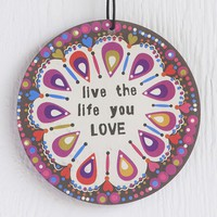 Car  Air  Fresheners:  Live  &  Love  Air  Freshener  From  Natural  Life