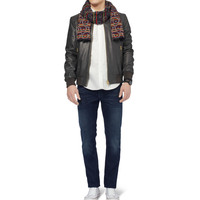 PS by Paul Smith - Leather Bomber Jacket | MR PORTER