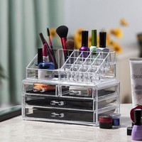 Drawer Cosmetic Makeup Organizer Storage Box