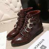 Givenchy Women Fashion Casual Punk Boots Shoes 2