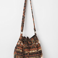 Ecote Kilim Zip-Pocket Shoulder Bag