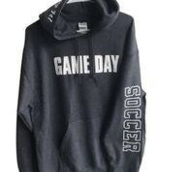 Game Day Hooded Soccer Sweatshirt with Headband
