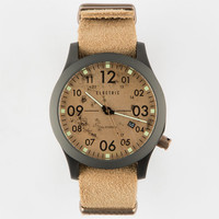 Electric Chris Cole Fw01 Nato Watch Brown One Size For Men 25623940001