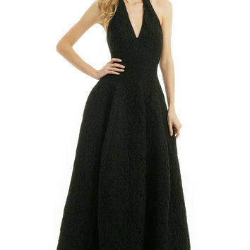 Halston Heritage Bring The Drama Gown