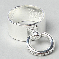 The Slave Ring in Silver by Han Cholo | Karmaloop.com - Global Concrete Culture