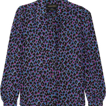 Vanessa Seward - Elise animal-print silk shirt