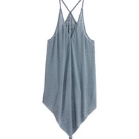 Jersey strappy top - from H&M