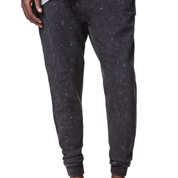 Ezekiel Bazooka Fleece Jogger Pants - Mens Pants - Black