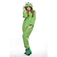 Unisex Adult Pajamas  Cosplay Costume Animal Onesuit Sleepwear Suit   Monocular