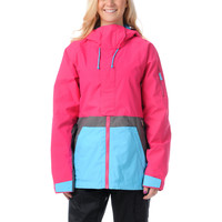 Burton Tula Hot Streak Pink 2013 10K Girls Snowboard Jacket
