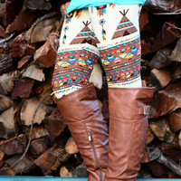 JOIN THE TRIBE LEGGINGS