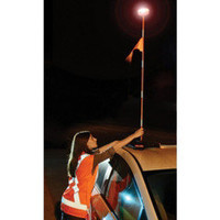 The 4 1/2' High Roadside Emergency Beacon - Hammacher Schlemmer