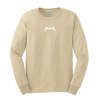 Yeezus Tour Glastonbury Long Sleeve Kanye West Shirt