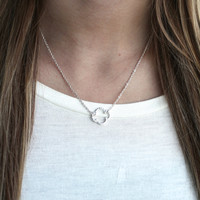 Lucky Girl Necklace (silver)