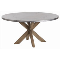 Arteriors Home Halton Metal Clad/Wood Dining Table - Arteriors Home 2415
