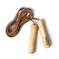 Everlast Leather Weighted Jump Rope | Bespoke Post